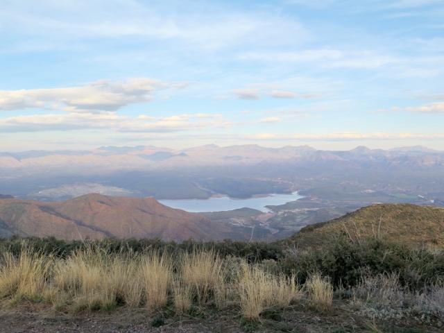 Horseshoe Lake - Arizona - take from Humboldt mountain