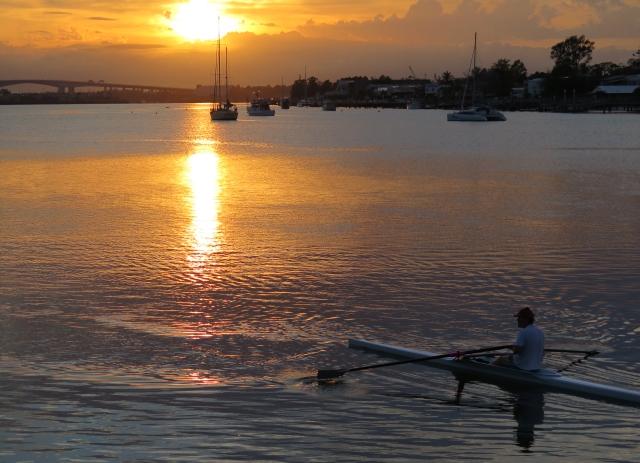 Brisbane River at Dawn